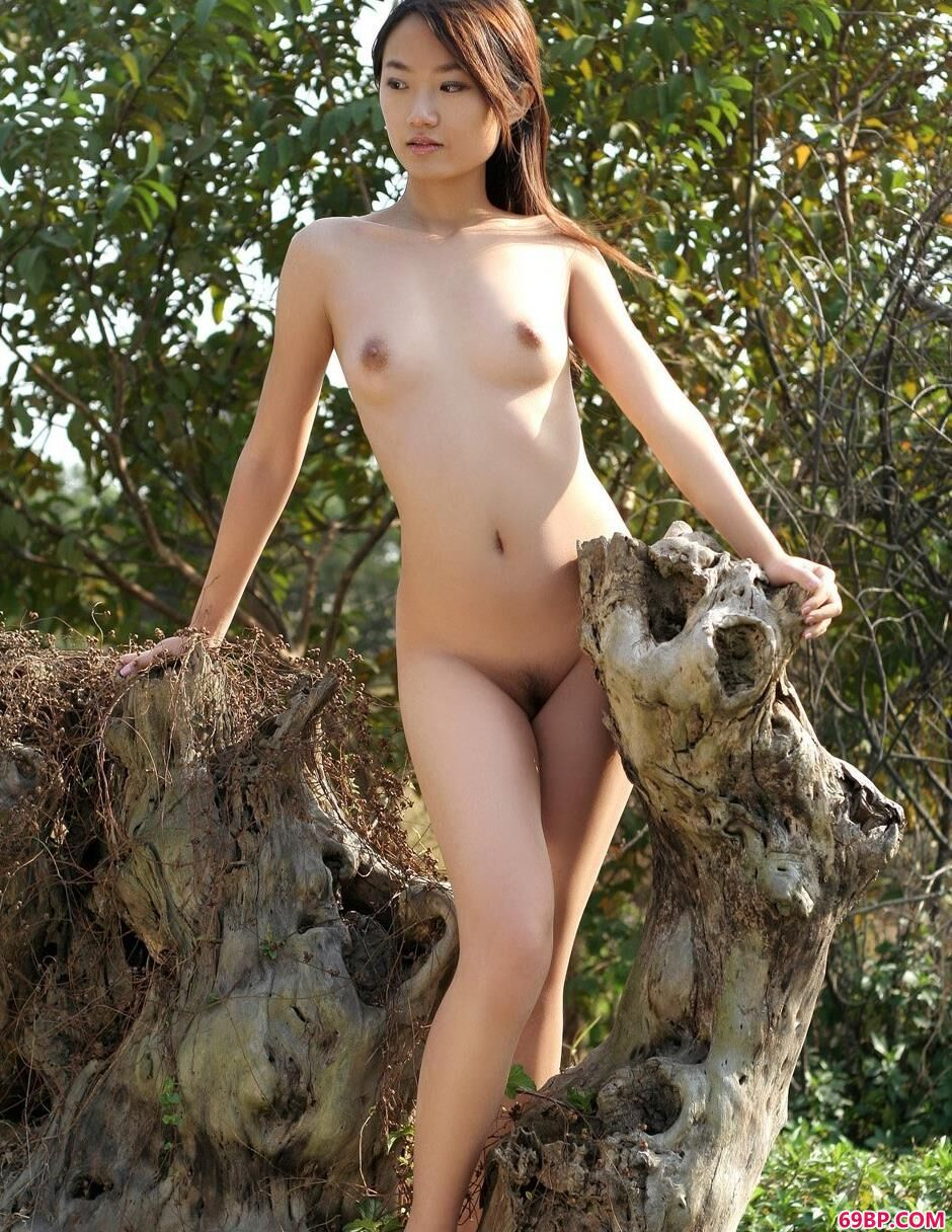 中国丰满裸体人体裸模外拍裸_糖糖外景枯木逢春1