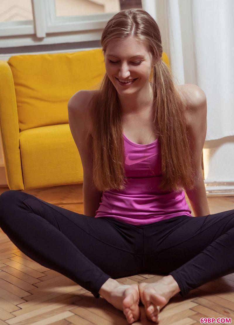 热衷于健身的女人Bretona