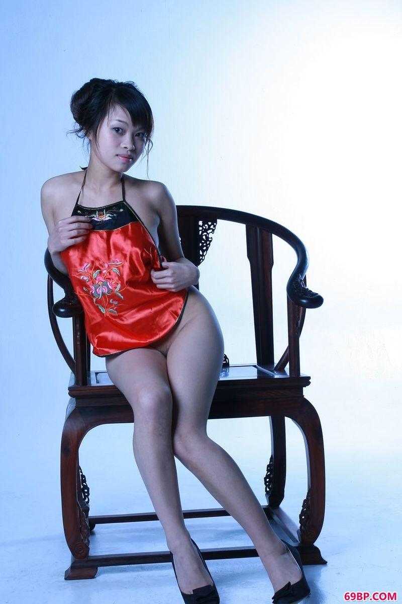 传统中国风姑娘王佳_gogo人体艺术